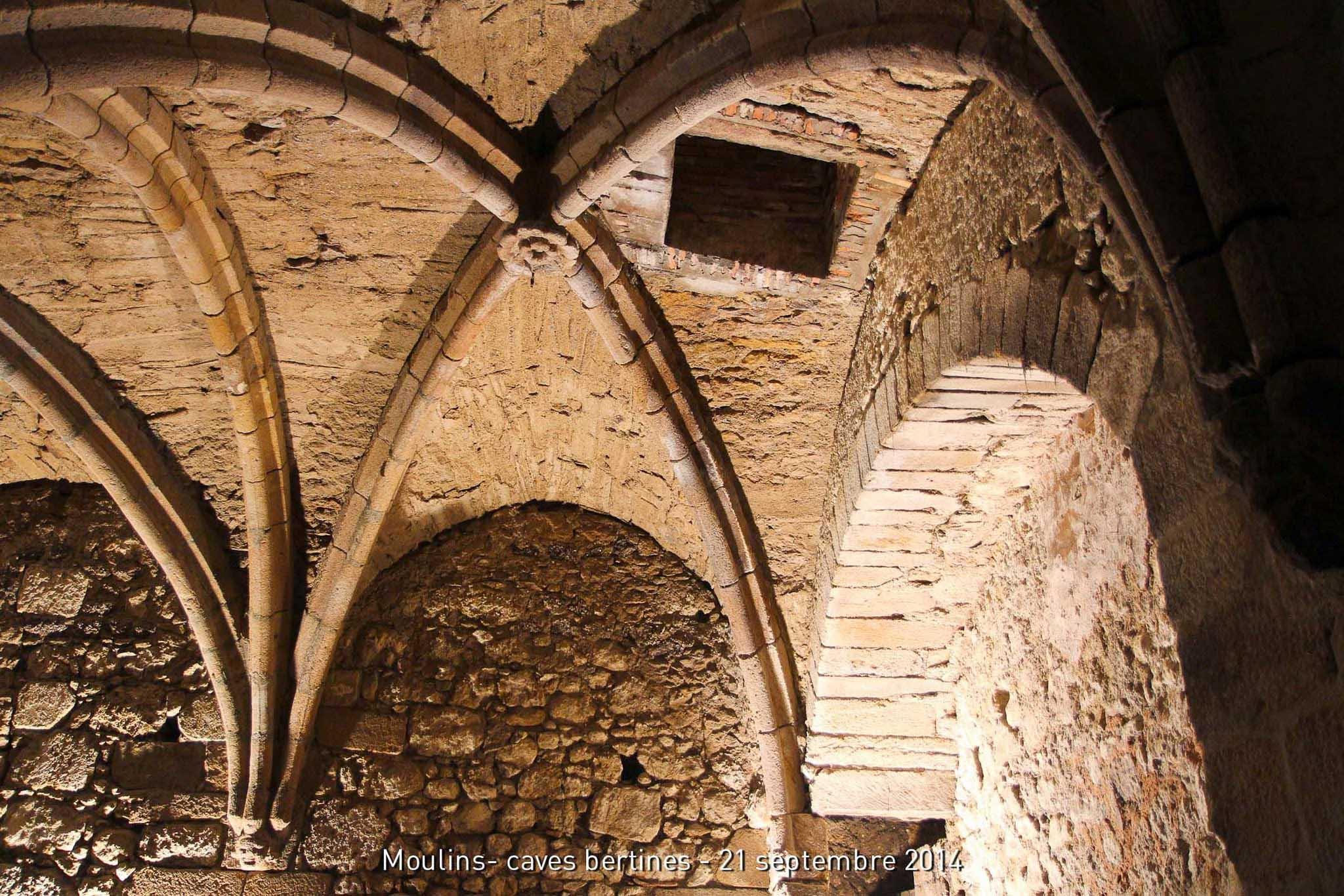L Architecture Caves Bertine